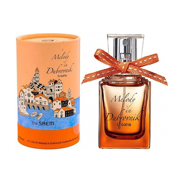 Парфюмированая вода женская The Saem City Ardor Melody In Dubrovnik Croatia Eau De Perfume 30мл