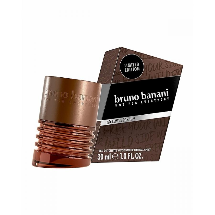 Туалетная вода Bruno Banani No Limits Man 18, 30 мл, мужская дутики no limits no way no limits no way no025ammed34