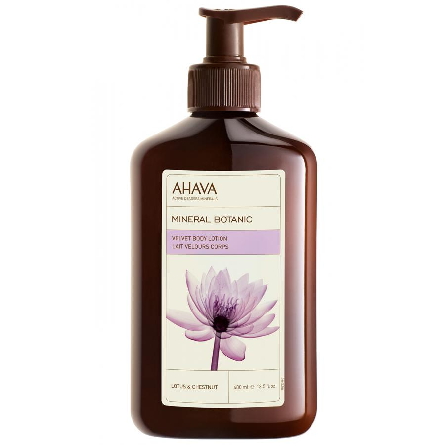 Крем для тела Ahava Mineral Botanic, 400 мл, лотос и каштан лосьон для тела ahava mineral botanic velvet body lotion tropical pineapple