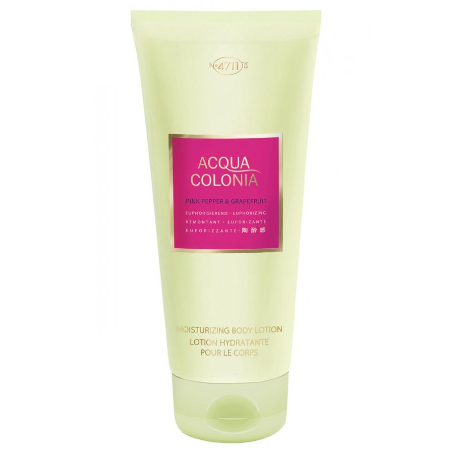 Лосьон для тела 4711 Acqua Colonia Euphorizing Pink Pepper&Grapefruit, 200мл