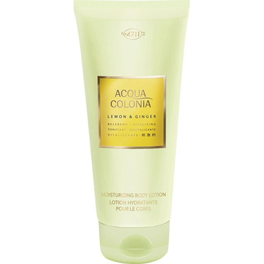 Лосьон для тела 4711 Acqua Colonia Vitalizing Lemon&Ginger, 200мл
