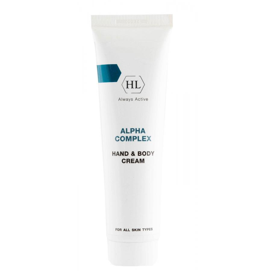 Крем для рук и тела Holy Land Hand & Body Cream ALPHA COMPLEX, 100 мл, с АНА кислотами пилинг holy land alpha complex купить
