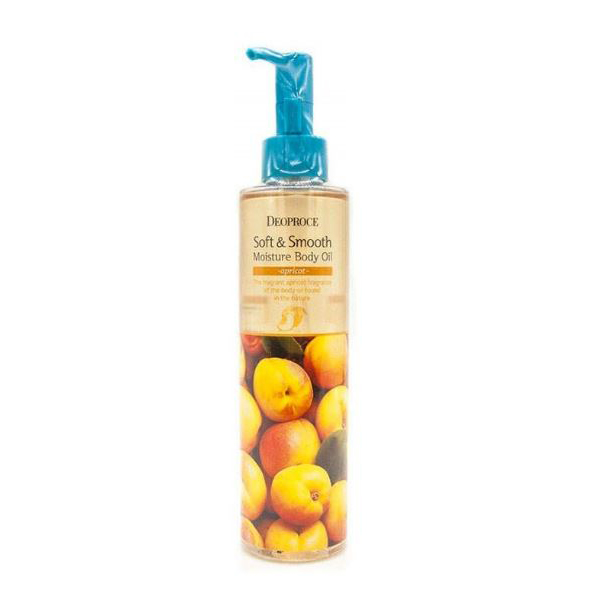 Масло для тела Deoproce Soft & Smooth Moisture Body Oil Apricot 200мл