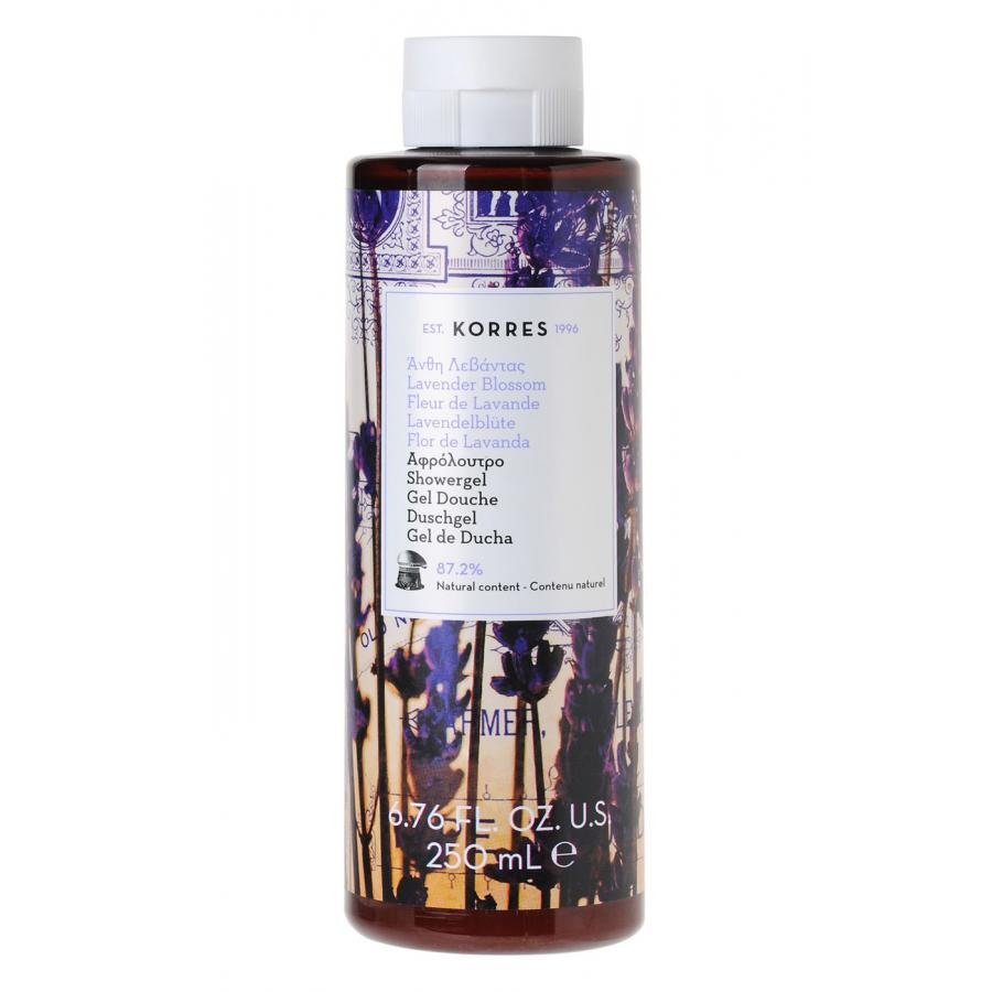 Гель для душа Korres лаванда, 250 мл гель для душа korres shower gel mango