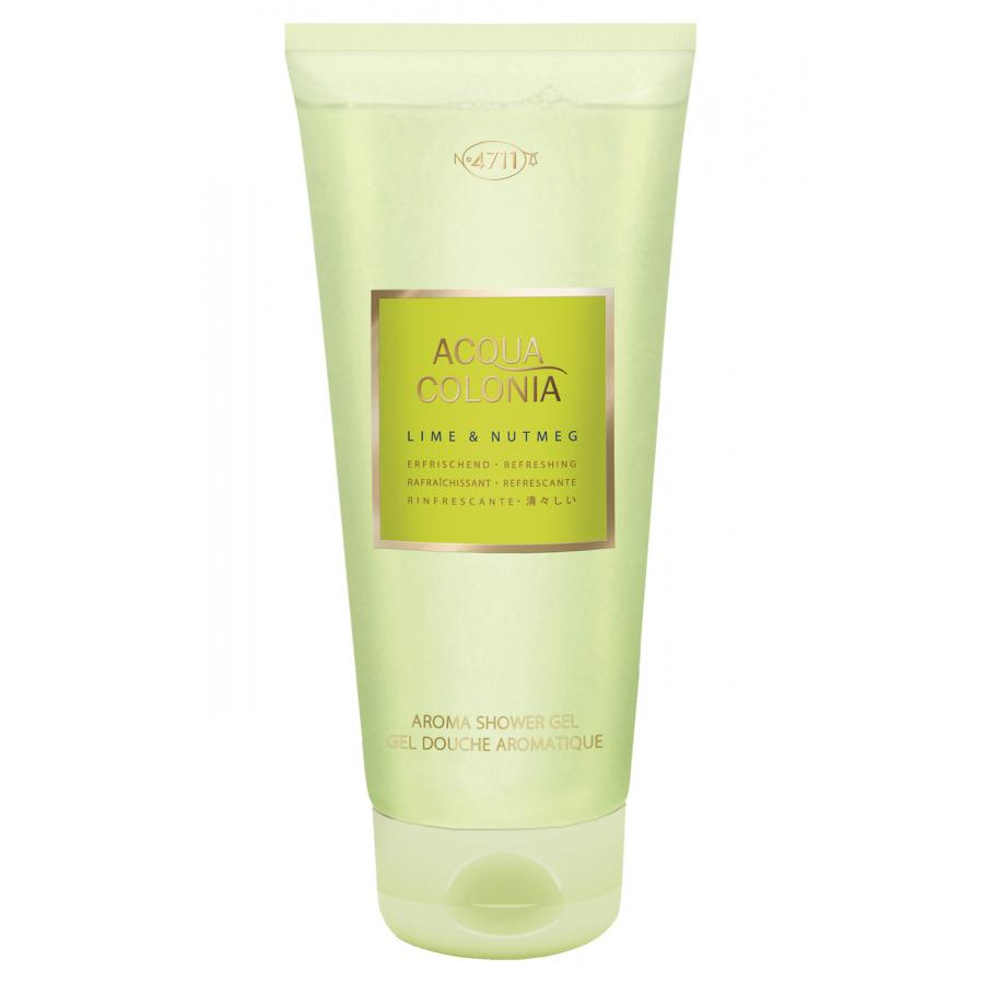Гель для душа 4711 Acqua Colonia Refreshing Lime&Nutmeg, 200мл