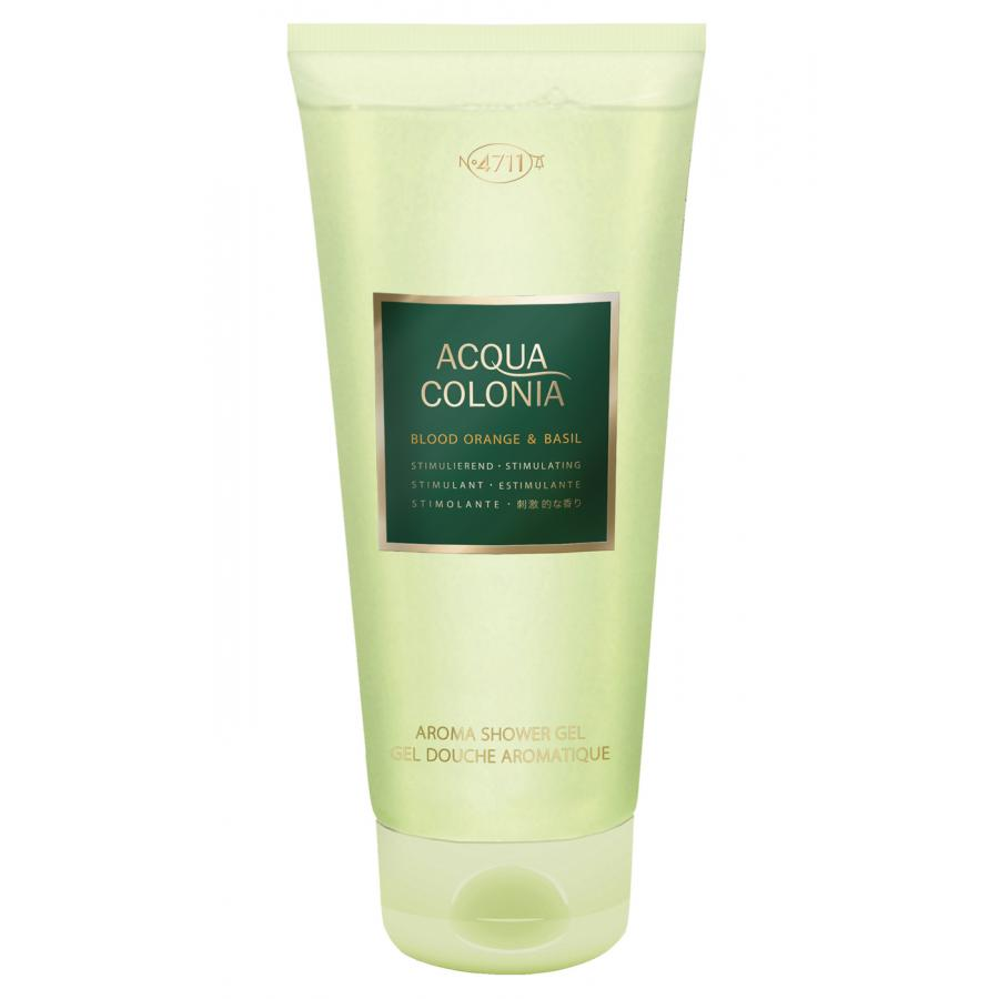 Гель для душа 4711 Acqua Colonia Stimulating Blood Orange&Basil, 200мл