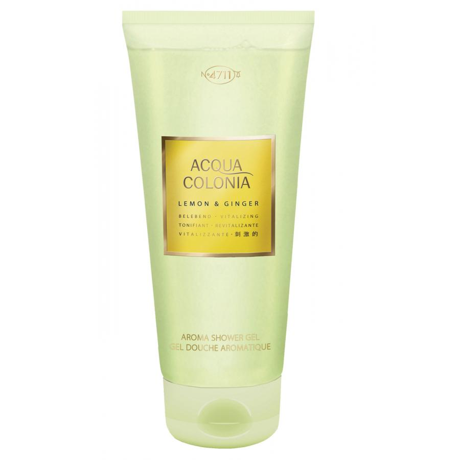 Гель для душа 4711 Acqua Colonia Vitalizing Lemon&Ginger, 200мл