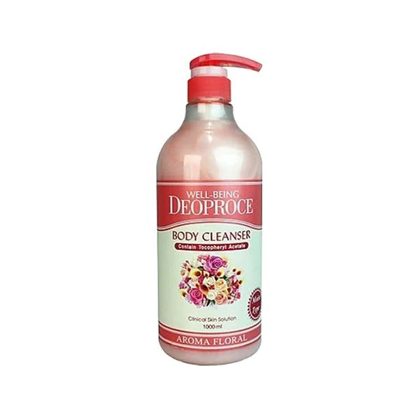 deoproce мист well being hydro Гель для душа цветочный Well-Being Deoproce Aroma Body Cleanser Floral 1000ml