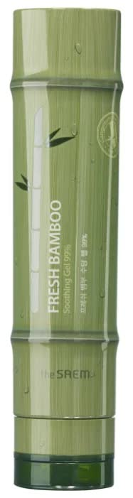 Гель для тела с экстрактом бамбука The Saem Fresh Bamboo Soothing Gel 99% 260 мл the saem fresh bamboo relief soothing mist мист для лица и тела с экстрактом бамбука 100 мл