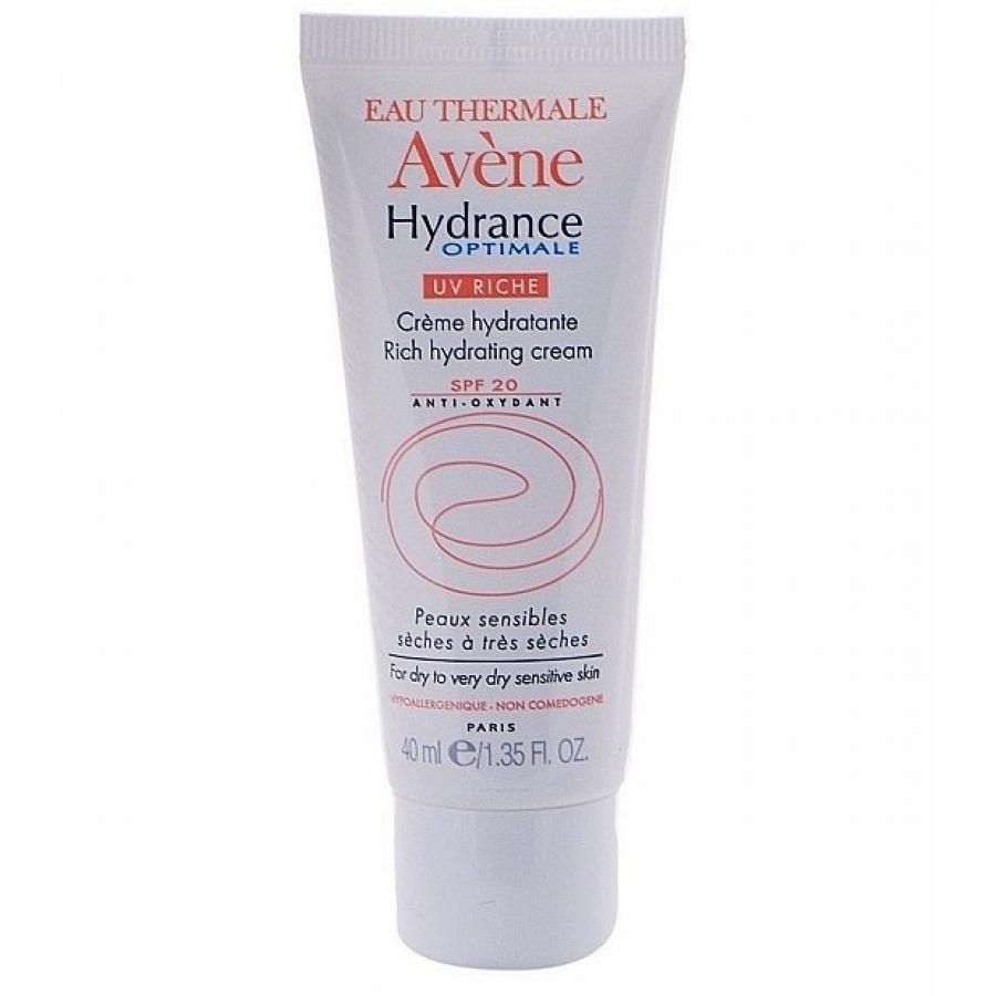 Крем для лица Avene Hydrance Optimale UV20 Riche 40 мл, увлажняющий, защитный, для сухой кожи avene avene hydrance optimale rich hydrating cream c20628 40