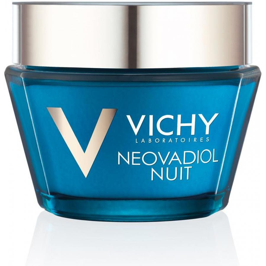 Ночнойкрем-уход для лица Vichy Neovadiol, 50 мл, для кожи в период менопаузы vichy neovadiol night
