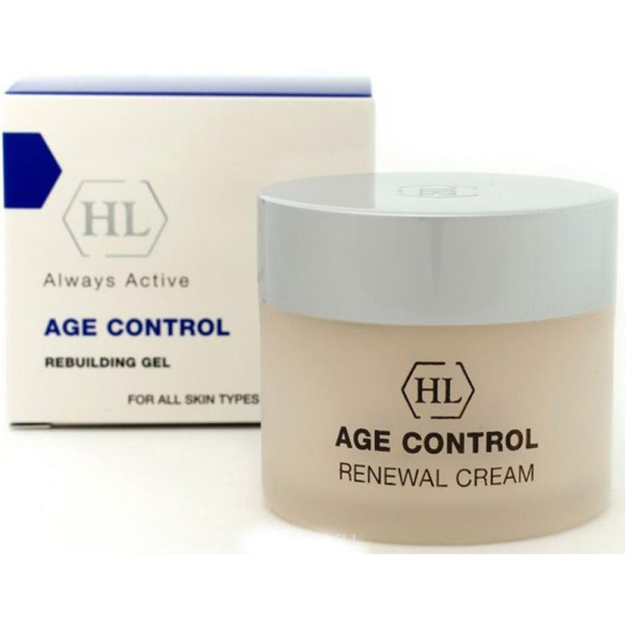 Крем для лица обновляющий Holy Land Renewal Cream AGE CONTROL, 50 мл holy land дневной крем для лица azulen day cream 250 мл