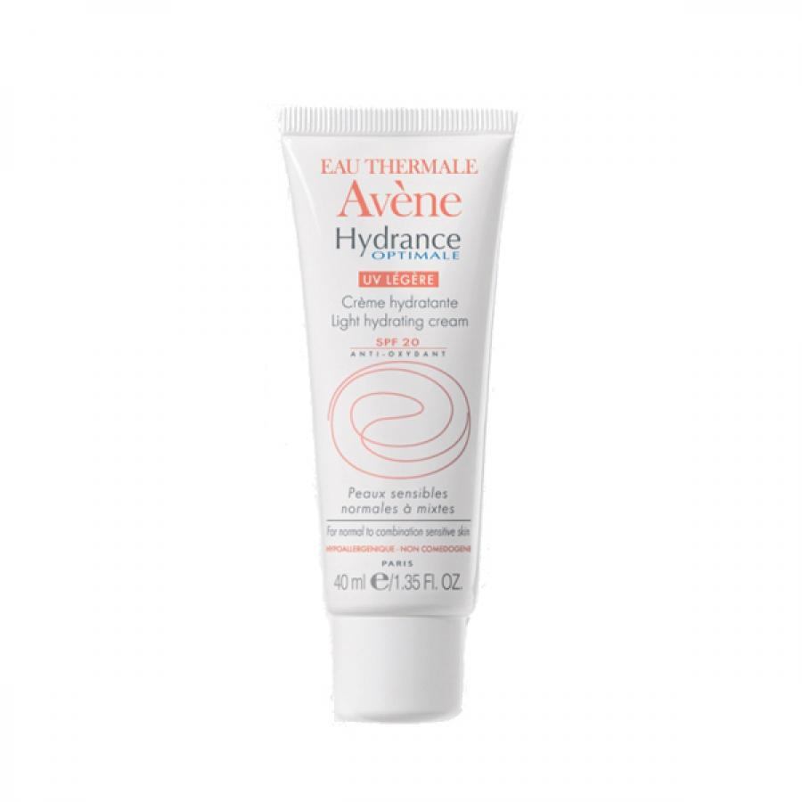 Крем для лица Avene Hydrance Optimale Legere UV20, 40 мл, легкий увлажняющий avene avene hydrance optimale rich hydrating cream c20628 40