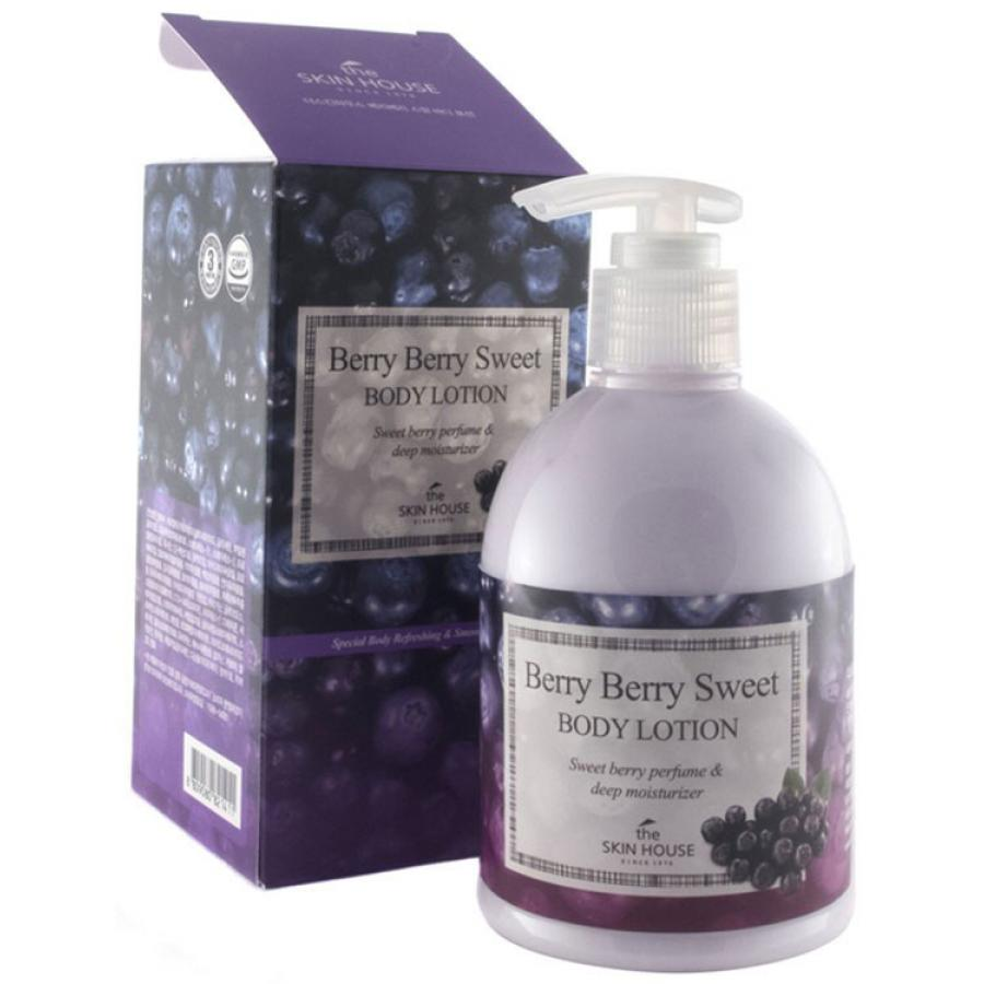 Лосьон для тела с экстрактом ягод The Skin House Berry Berry Sweet Body Lotion, 300мл лосьон для тела с асаи 300 мл the skin house лосьон для тела с асаи 300 мл