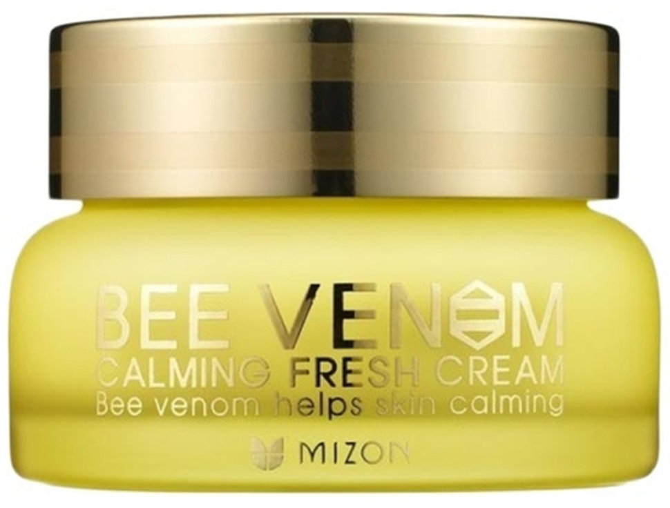 Крем для лица с прополисом и пчелиным ядом Mizon Bee Venom Calming Fresh Cream аклен бальзам для тела апис мед с пчелиным ядом 3% 35 мл