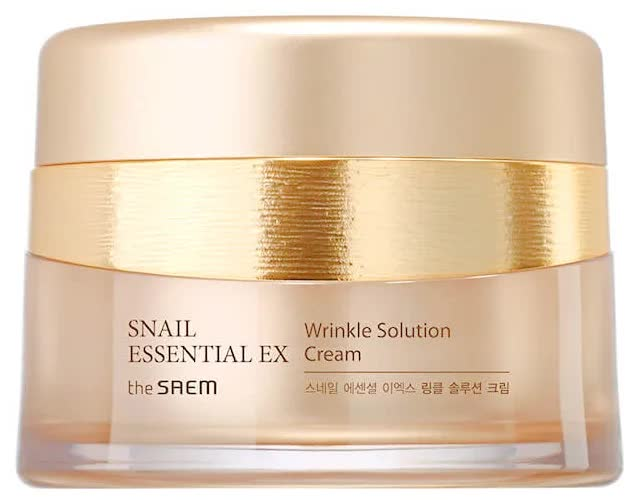 Крем антивозрастной The Saem Snail Essential EX Wrinkle Solution Cream 60мл