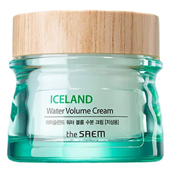 Крем минеральный The Saem Iceland Water Volume Hydrating Cream (For Oily Skin) 80мл