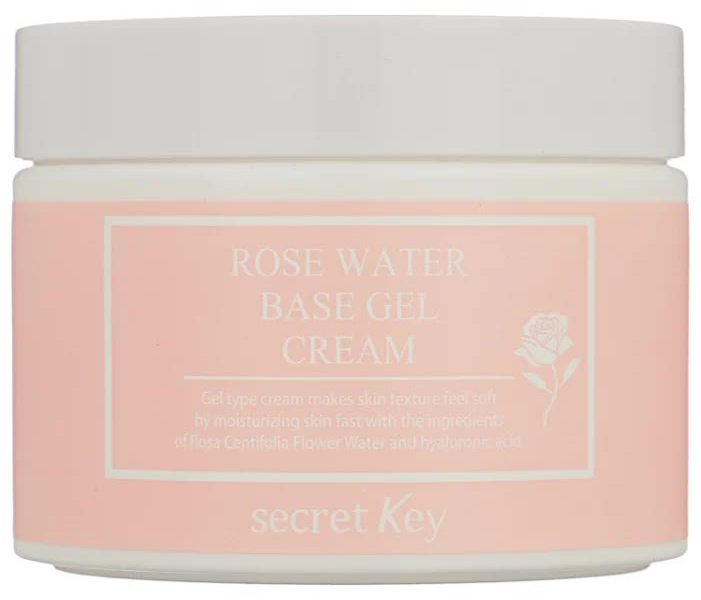 Гель крем с экстрактом розы Rose Water Base Gel Cream chi luxury black seed oil curl defining cream gel