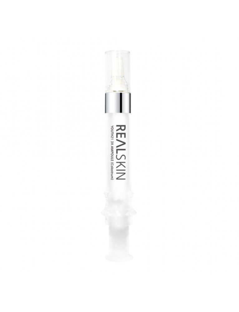 Сыворотка для лица RealSkin Youth21 3X Ampoule (Colostrum), 12 мл