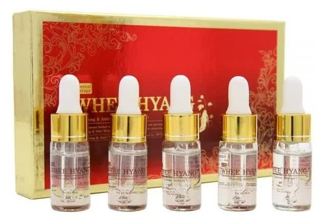 Сыворотка для лица антивозрастная Whee Hyang Anti-Wrinkle Ampoule Set ?Firming 10мл*5 дневной уход deoproce whee hyang doule care ampoule day