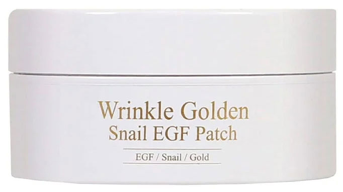 Гидрогелевые патчи The Skin House Wrinkle Golden Snail EGF Patch, 60шт