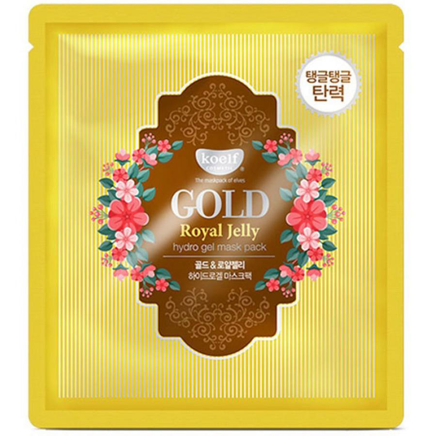 Гидрогелевая маска Koelf Gold & Royal Jelly Hydro Gel Mask Pack, 30гр маска для тела koelf koelf ko009lwmcb28