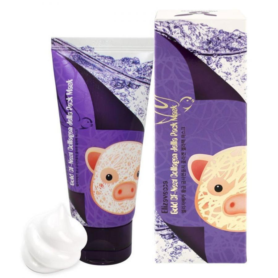 Маска-пленка Elizavecca Gold CF Nest Collagen Jella Pack Mask пленка
