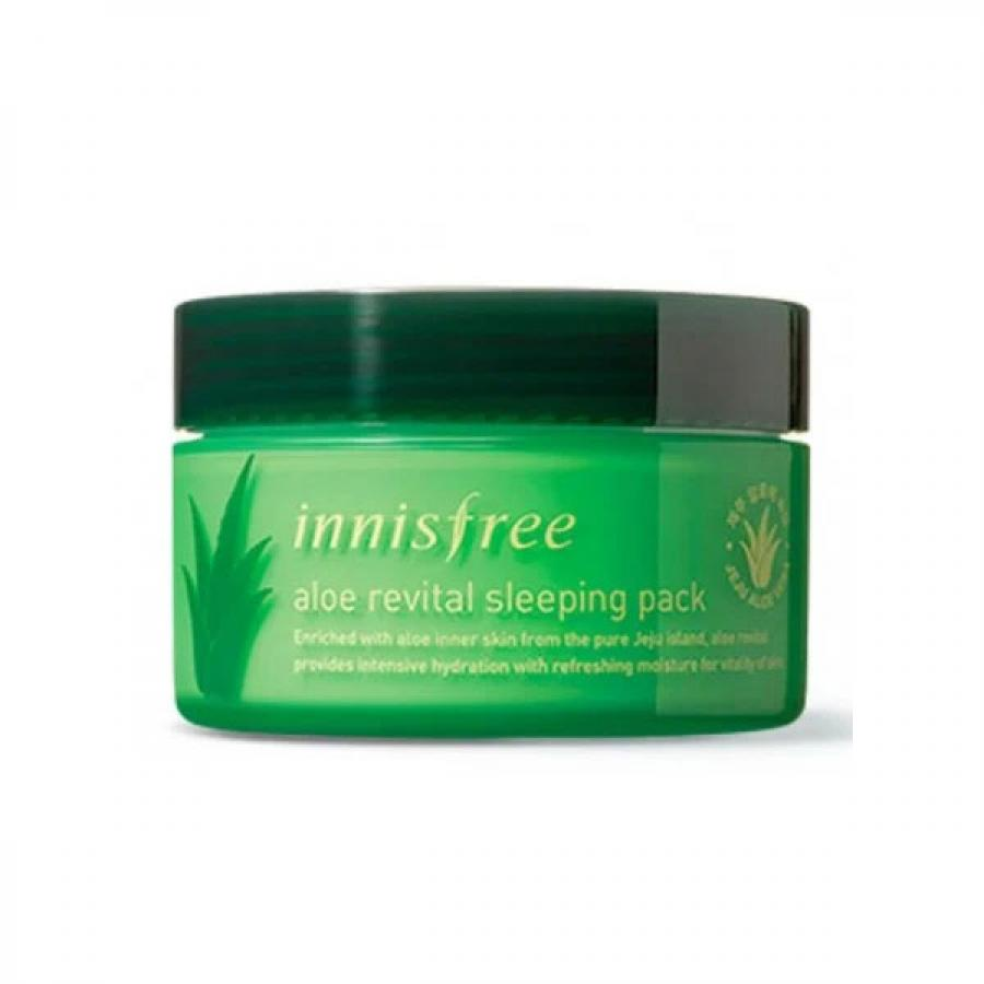 Ночная маска с алоэ вера Innisfree Aloe Revital Sleeping Pack innisfree 160ml