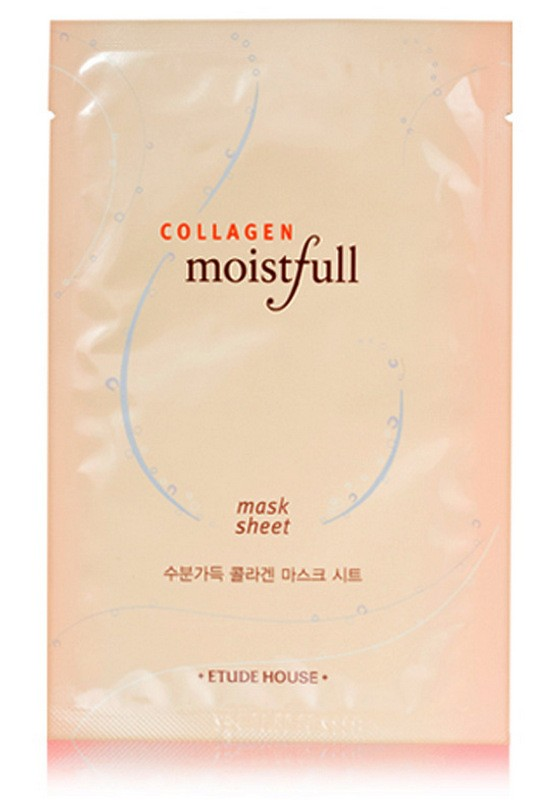 Маска для лица с коллагеном Etude House Collagen Moistfull Collagen etude house увлажняющая ночная маска moistfull collagen sleeping pack