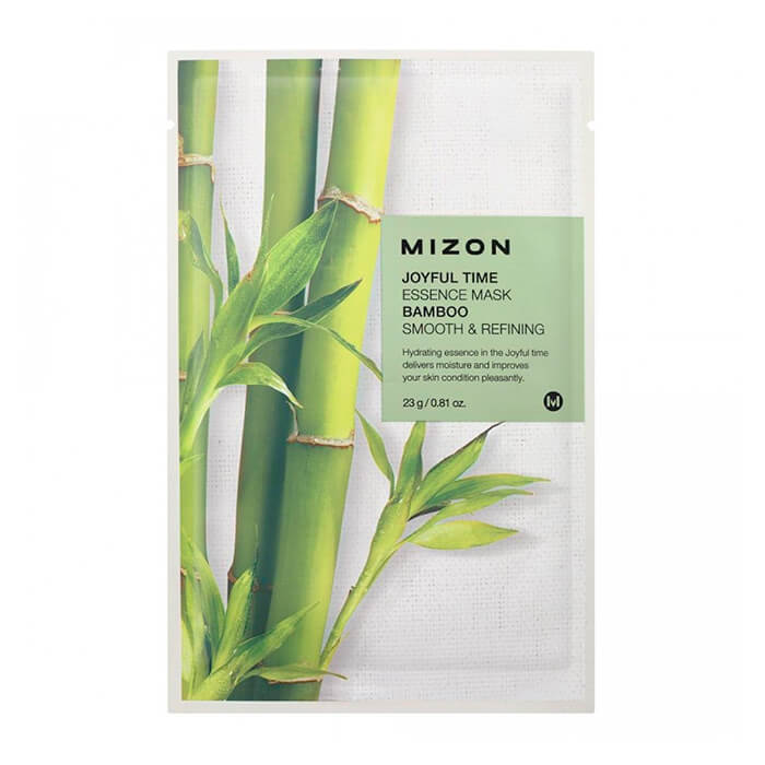 Тканевая маска для лица с экстрактом бамбука Mizon Joyful Time Essence Mask Bamboo journey joyful