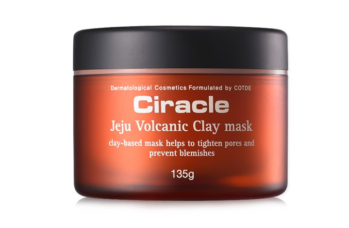 Маска из вулканической глины чеджу Ciracle Jeju Volcanic Clay Mask 135гр