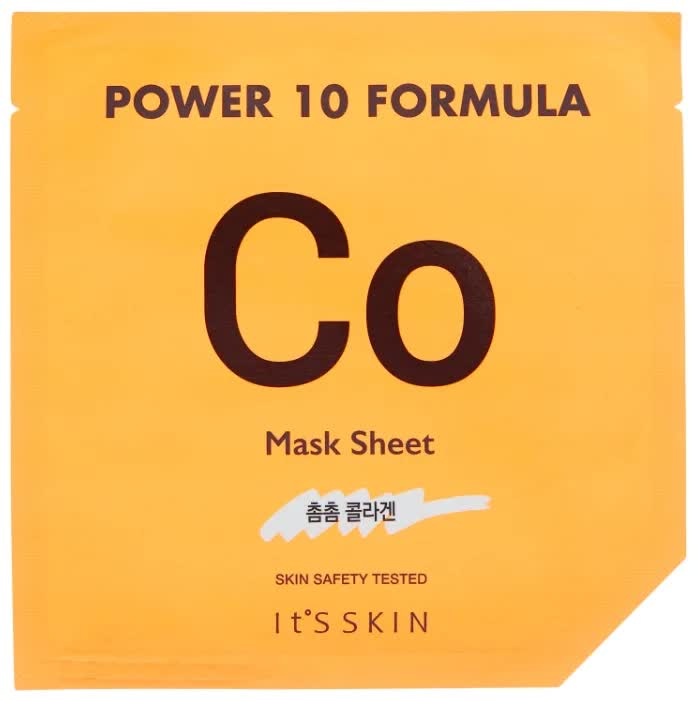 Фото - Тканевая маска с коллагеном It's Skin Power 10 Formula CO Mask Sheet it s skin power 10 formula mask sheet wr тканевая маска лифтинг итс скин 25 мл
