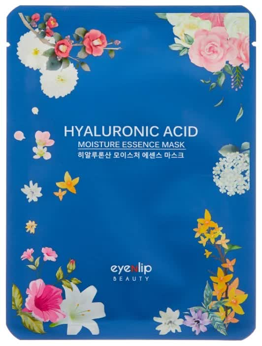 Маска для лица тканевая Eyenlip Hyaluronic Acid Moisture Essence Mask 25мл цены