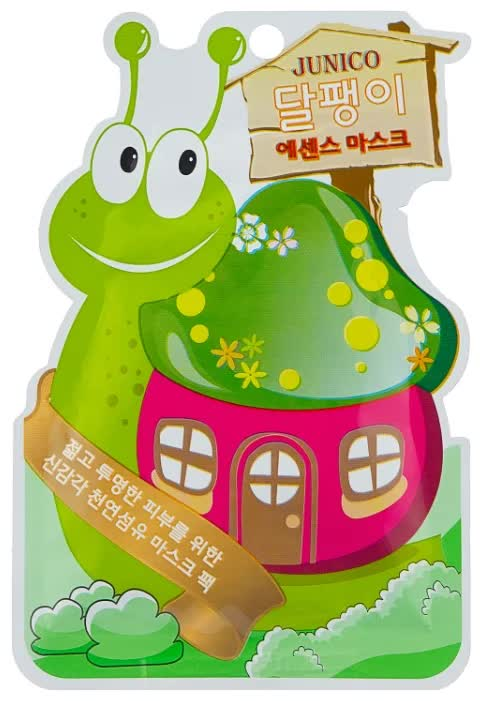 Маска тканевая с экстрактом улитки Mijin Cosmetics Junico Snail Essence Mask 25 г маска тканевая для лица mijin cosmetics junico crystal all in one facial mask snail 25 г