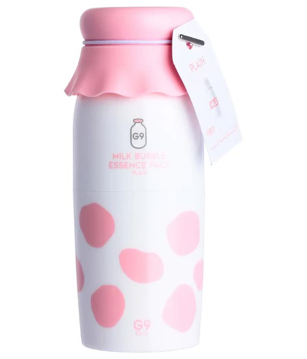 Маска для лица кислородная MILK BUBBLE ESSENCE PACK - PLAIN 50мл недорого