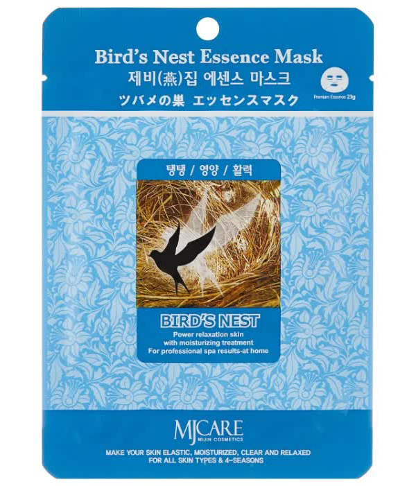 Маска тканевая для лица Ласточкино гнездо Bird`s Nest Essence Mask 23гр