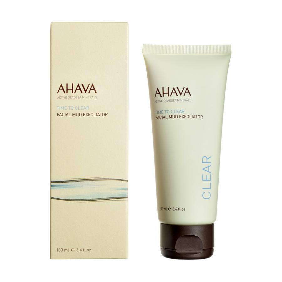 Грязевый пилинг для лица Ahava Time To Clear, 100 мл