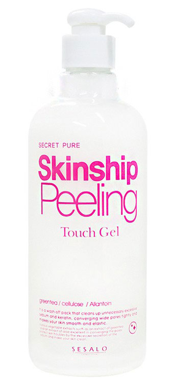 Увлажняющая пилинг скатка для лица и тела Elizavecca Secret Pure Skinship Peeling Touch Gel пилинг скатка для ног bioaqua
