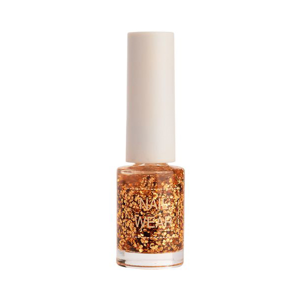 цена на Лак для ногтей The Saem Nail Wear #49. Colorful Gold 7 мл
