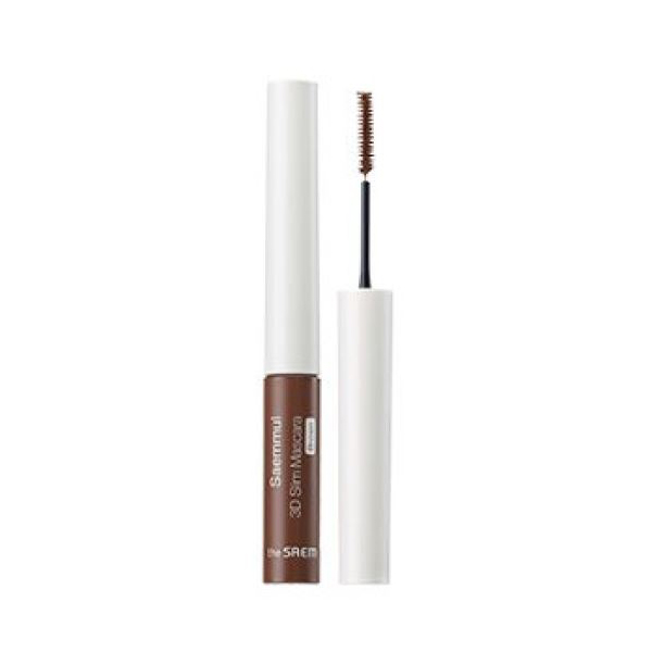 Тушь 3D The Saem Saemmul 3D Slim Mascara - Brown 4гр все цены