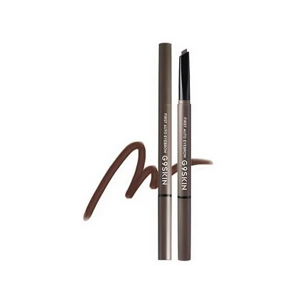 Карандаш для глаз и бровей G9SKIN First Auto Eyebrow 03. Mocha Brown 0,35гр светоотражатель blicker авто ppb pvh006 white 110x20mm 253609