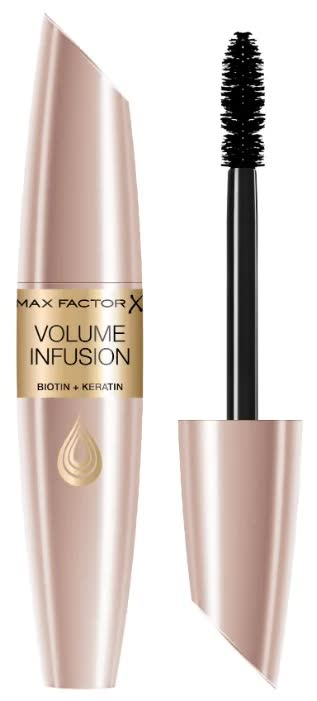 Тушь для ресниц Max Factor Volume Infusion Mascara, Black brown тушь для ресниц volume infusion mascara biotin keratin black brown