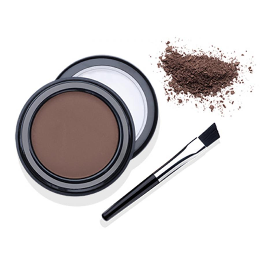 Пудра для бровей с кистью Ardell Brow Defining Powder Mink Brown, 2.2 г, тон цвет норки innovator cosmetics белая паста для бровей sexy brow white paste 10 г