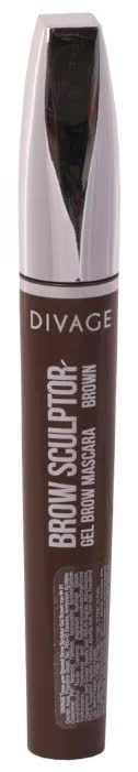 Тушь Для Бровей Divage Brow Sculptor Gel Brown № 01
