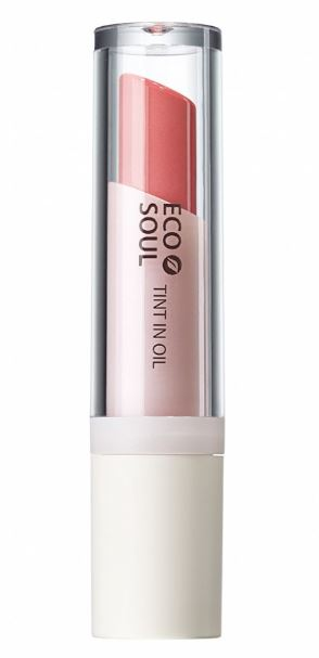 Тинт минеральный The Saem Eco Soul Mineral Tint In Oil PK02 Bad Coral 4гр the saem eco soul mineral tint in oil your orange тинт для губ минеральный тон or02 4 г