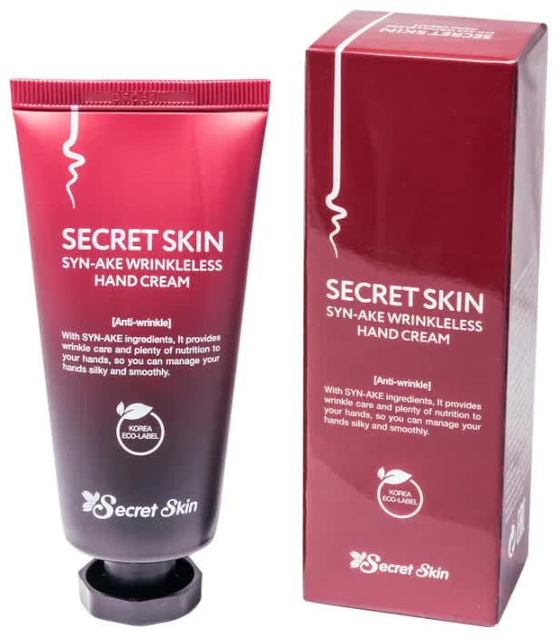 Крем для рук Secret Skin Syn-Ake Wrinkleless Hand Cream 50 мл it s skin power 10 formula syn® ake