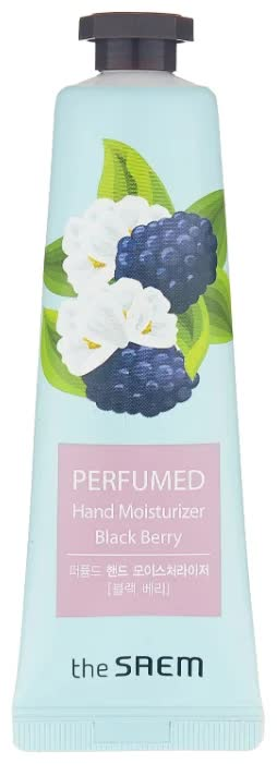 Крем для рук The Saem Perfumed Hand Moisturizer Black Berry 30 мл
