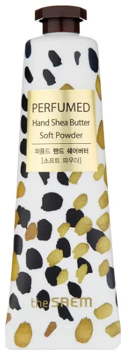 Крем-масло для рук The Saem Perfumed Hand Shea Butter Soft Powder 30 мл