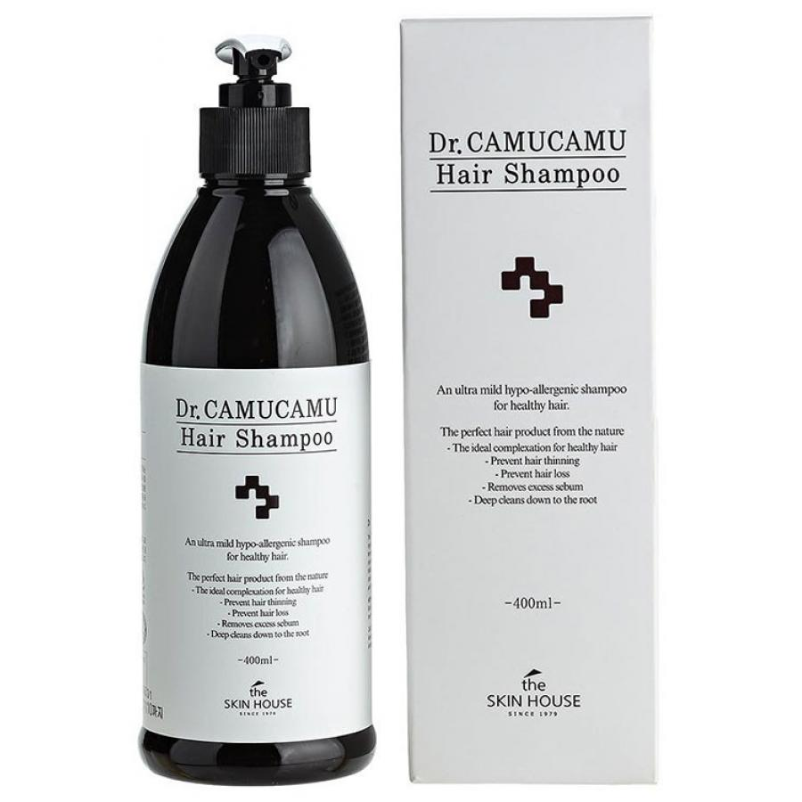 Лечебный шампунь The Skin House Dr.Camucamu Hair Shampoo, 400мл