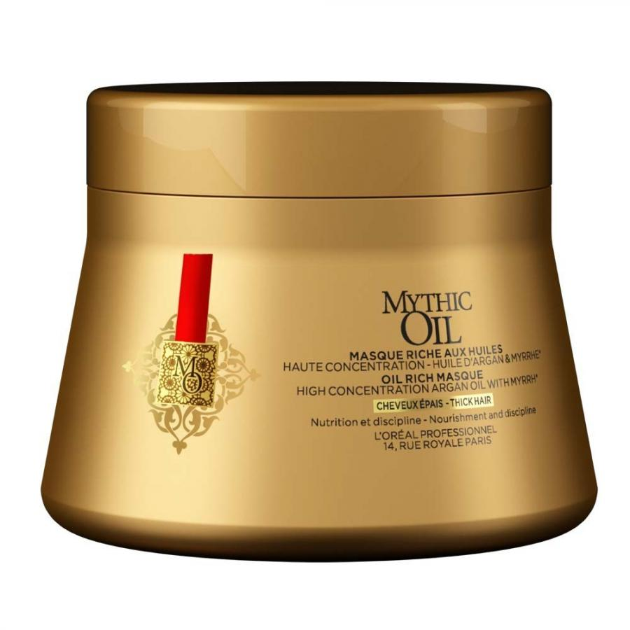Маска для волос LOreal Professionnel Mythic Oil, 200 мл, для плотн.в. loreal желе для волос